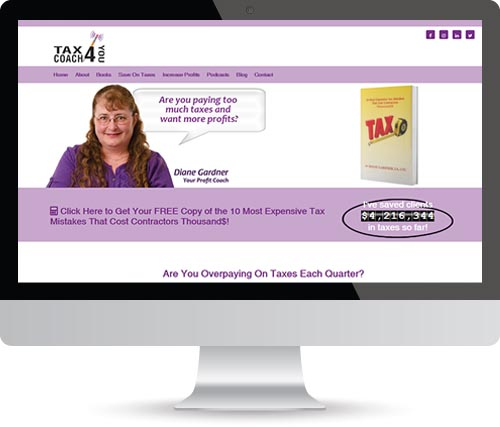 Design Formare Inc - TaxCoach4You Old Website