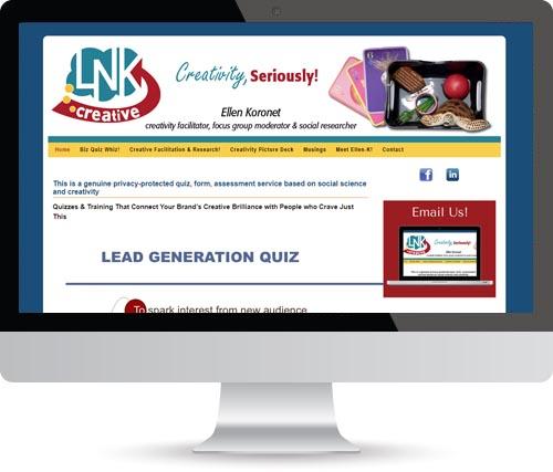Design Formare Inc - LNK Creative Website BEFORE