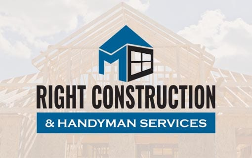 Design Formare Inc Logo Design for Right Construction